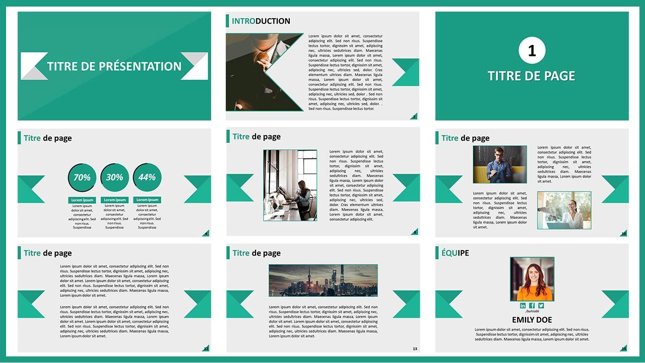 Diapositive de Présentation Gratuit Sans Payer