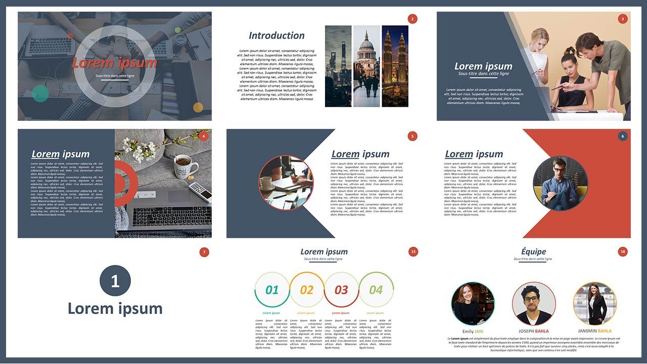 Diapositive Présentation PPtx Créative